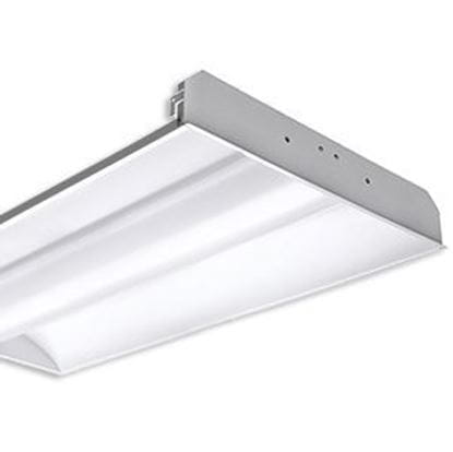 Picture of 2X4 DIRECT/INDIRECT FOR 2 - T8 LED-BYPASS FIXTURE (No ballast, LED-Bypass lamps not included)